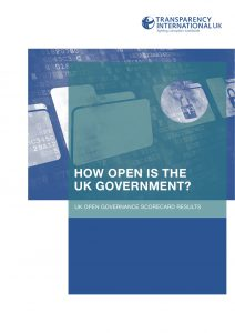 Open Government Scorecard