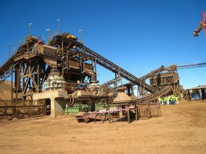 Photo of extractives industry