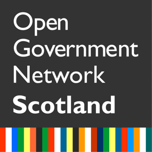 Image of Scotland's Open Government Network logo