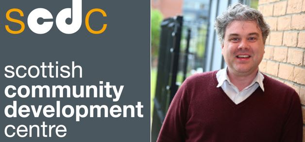 Image of SCDC Logo on the left hand side and image of Paul Nelis on the right hand side