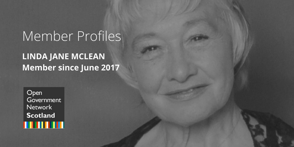 MEMBER PROFILES | LINDA JANE MCLEAN | MEMBER SINCE JUNE 2017