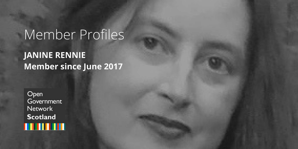 Member Profiles: Janine Rennie - Member since June 2017