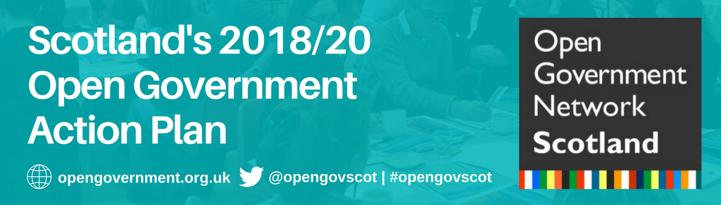 Scotland's 2018/20 Open Government Action Plan