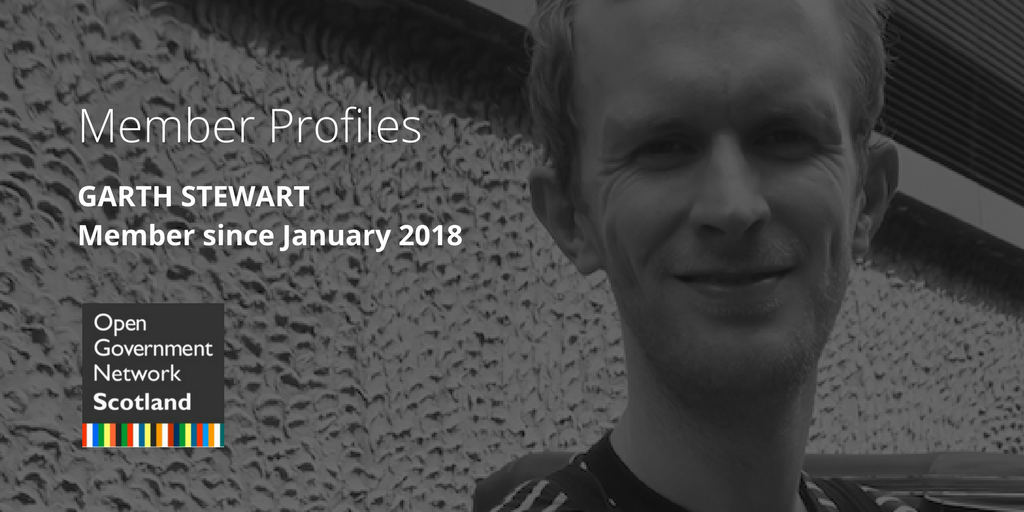 Member Profiles: Garth Stewart, Member Since January 2018